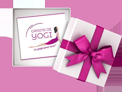 carte cadeau cours yoga