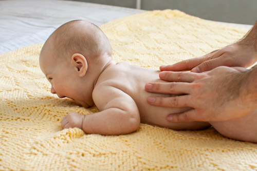 massages bébés esvres